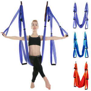 Sports & Entertainment Yoga Swing Anti-gravity Yoga Hammock Parachute Fabric Traction Hanging Swing Indoor Reverse Aerial Yoga Hammock Yoga Swing