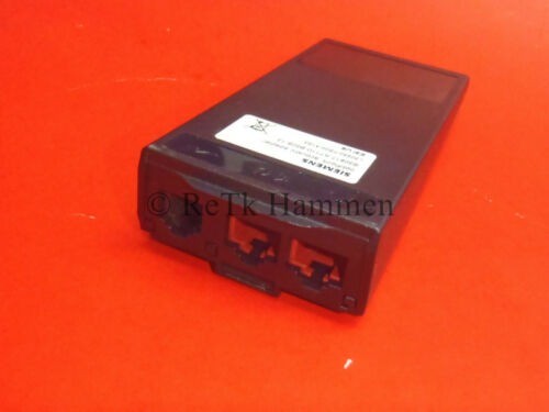 Siemens Optipoint acoustic adapter Version mit DHSG EHS Headsetadapter Octophon