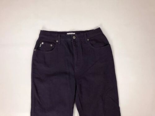 L32 moleskine Grand Moschino Violet Pantalon W30 Condition Femme en TRP5waqI