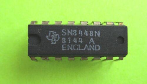 SN8448 = industrial 7448 BCD to 7-SEGMENT DECODER   TEXAS INSTRUMENTS