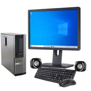 Computer Set i5 DELL HP Desktop SFF 8GB RAM 240GB SSD + 500GB HDD WIN10 TFT WiFi