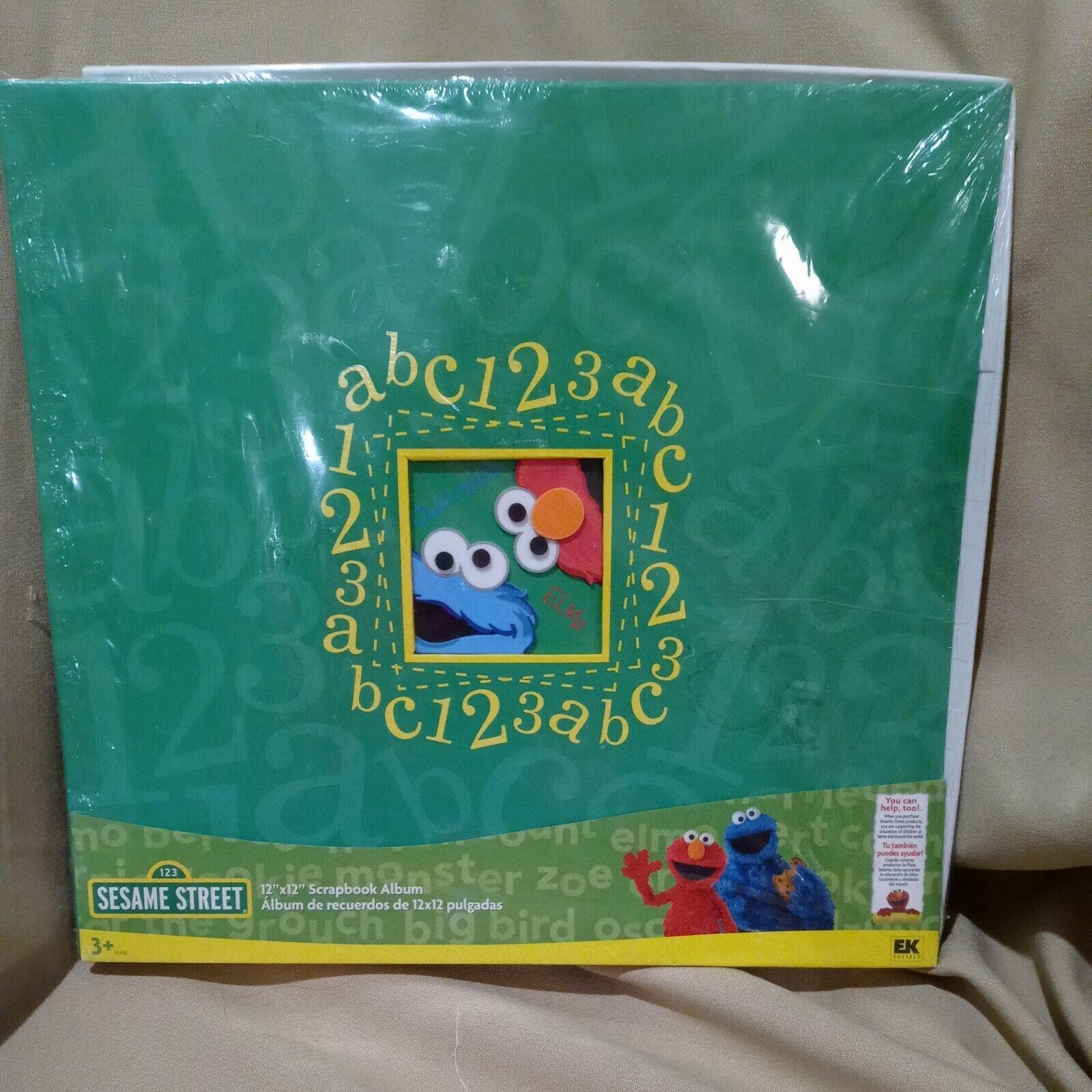 Sesame Street Elmo Scrapbook Layout Premade 12 x 12 Scrapbook Page #elmo