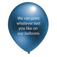 25 BIRTHDAY,WEDDING,ANNIVERSARY,CHRISTENING PERSONALISED Helium Quality Latex
