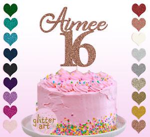 16th-Name-Cake-Topper-Custom-Personalised-Birthday-Sixteen-18-21-23-25-30-50-60