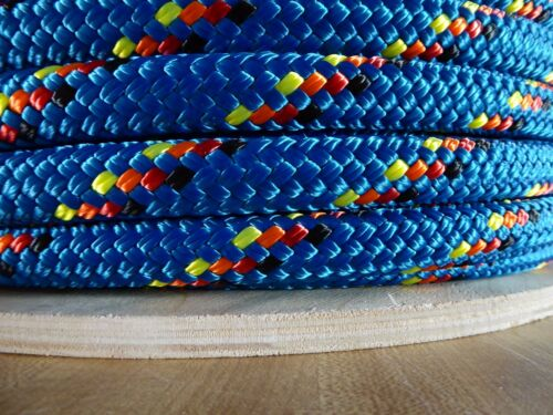 """5//16/"""" x 300 ft Double Braid~Yacht Braid Polyester Rope Spool.Made in the USA."""