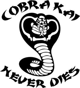 Car Truck Laptop Cobra Kai Vinyl Decal Sticker