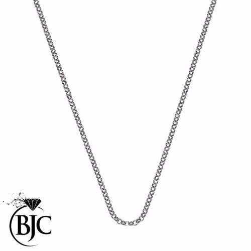 BJC® Sterling Silver Dog Tag St Saint Christopher Engravable Medallion Tags
