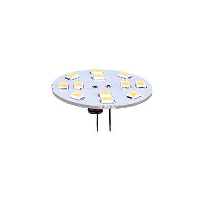 LED G4 Leuchtmittel 1,2W 125lm 12V AC//DC 20mm warmweiß 3000K Pins hinten 120°
