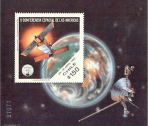 Chile-1993-Space-Skylab-Conference-of-the-Americas-Block