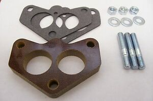 Fits Stromberg 97 Ford Holley 94 Ford Spacer Phenolic Carb Insulator Riser 1/2