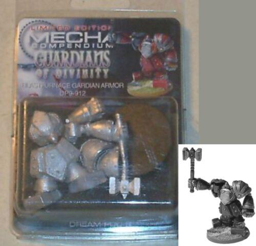 Mecha Compendium Dp9-912 Blastfurnace Guardian Armor 1 Miniature Mech NOS