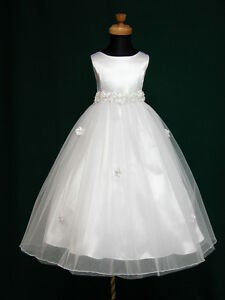 New-Angela-Flowergirl-Flower-Girl-1st-Communion-Bridesmaid-Wedding-Dress-2-13Yrs