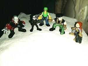 Lot of 5 GI Joe & Transformers Rescue Bots Hasbro Combat Heroes Figures