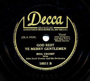 BING-CROSBY-on-1942-Decca-18511-God-Rest-Ye-Merry-Gentlemen