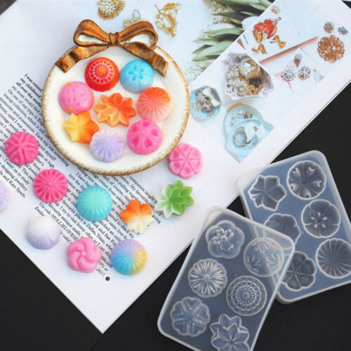 Shaped UV Epoxy Cake Decorating Jewelry Making Tools Resin Mould Silicone Mold