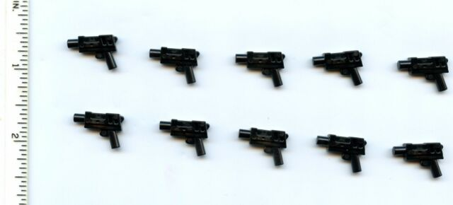 Weapon Pistol Automatic Medium black x 10 Indiana Star Wars NEW LEGO gun