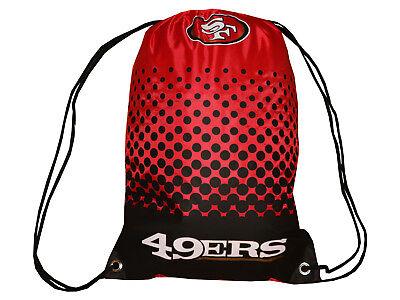 Herzhaft San Francisco 49ers Fan Gymbag Rot Nfl Turnbeutel Sportbeutel 45x35cm Tasche