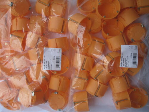 Hohlwanddosen 47mm flach  Versandfrei 50x Schalterdosen