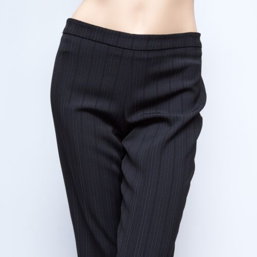 Cinzia Bukser 8x31 Pinstriped Rocca Black Uld 257 Unlined Kjole wfwqY4r