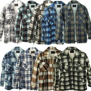 Lumberjack Shirt Jacket Fur Lined Sherpa