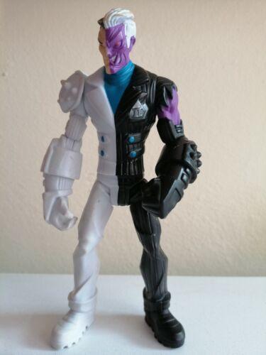 """Due FACCE DUAL DISTRUZIONE BATMAN Power Attack Action figure Mattel 6/"""""""