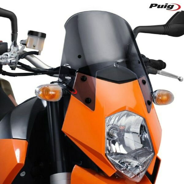 Puig 5053f Cupolino Ng Sport Fume Scuro Ktm 950 Lc8 Supermoto 2005-2007