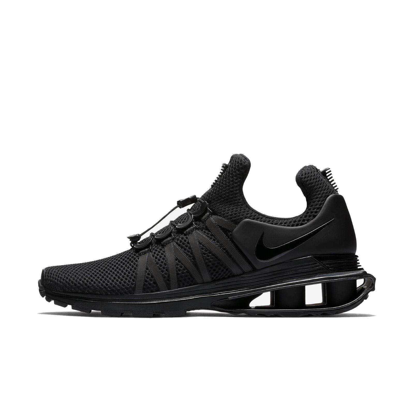 Nike Shox Gravity Low NZ Turbo Basketball Sneakers Men's shoes Black AR1999-001