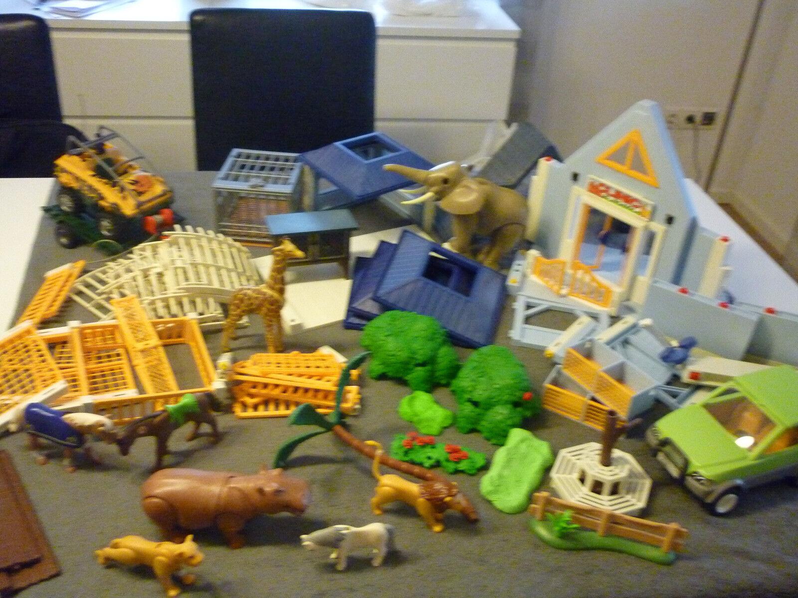 Playmobil Liasse, Fort Bravo, clinique vétérinaire, Safari, animaux, de nombreux animaux, Safari, accessoires 21bcca