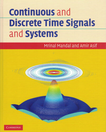 1 of 1 - Continuous and Discrete Time Signals and Systems with CD-ROM by Mrinal Mandal