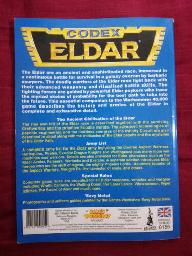 Eldar Craftworld Dark Harlequins Codex Warhammer 40k various editions select
