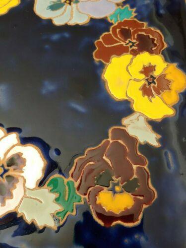 "Choose 1 Hand Glazed Art Ceramic Large Tiles 12/"" X 12/"" Wall Table Elaine Cain"