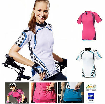Schlussverkauf Crivit Sports Damen Fahrradshirt Radsport Fahrrad Sport Shirt Radlershirt Trikot Kunden Zuerst