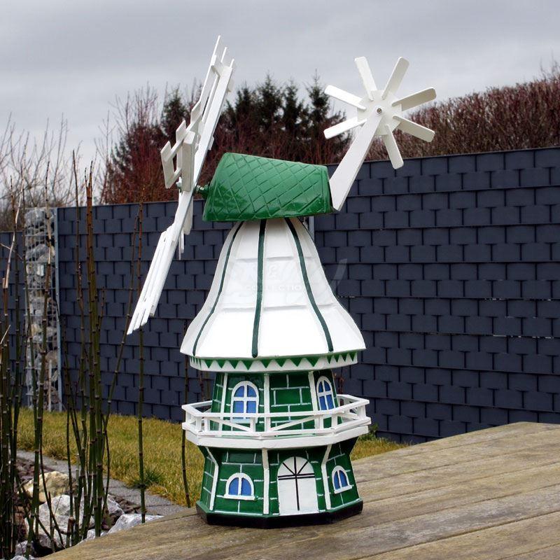 GARTENWINDMÜHLE OLIVIA 60 cm grün weiß Garten Deko Mühle Windmühlen Dekoration | Billig ideal  | Deutschland Online Shop  | Shopping Online