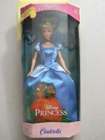 Mattel Barbie Cinderella Disney Princess- Nib- 2000 -29175-retired
