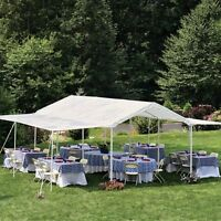 Shelterlogic 20 X 10 All-purpose Canopy With Extension, White, 10 X 20 on sale