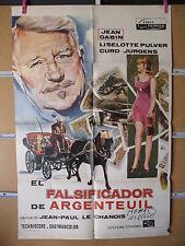 A1965    EL FALSIFICADOR DE ARGENTEUIL JEAN GABIN