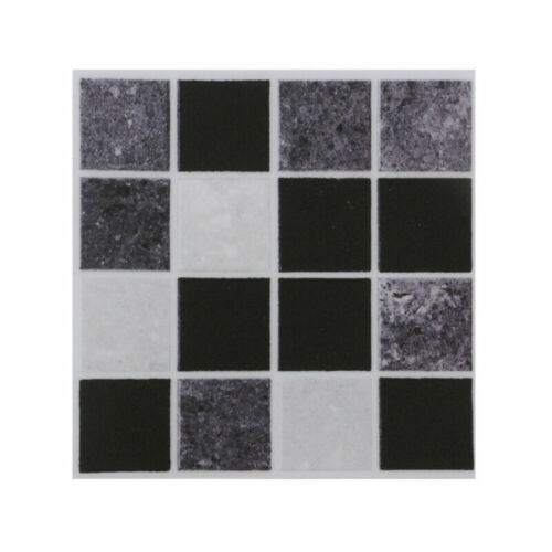 90pcs Home Waterproof Decor Kitchen Bathroom Tile Mosaic Stickers Self-adhesive