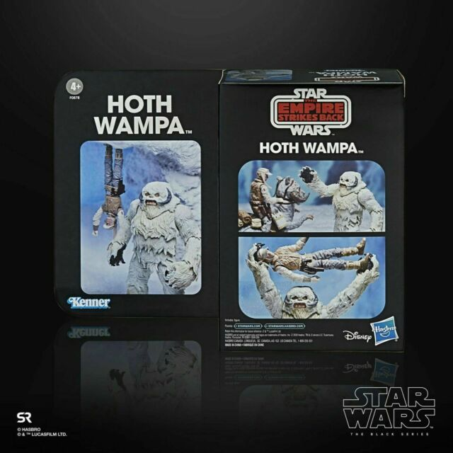 "SDCC EXCLUSIVE 2020 STAR WARS THE BLACK SERIES 6"" HOTH WAMPA FIGURE ""IN STOCK"""