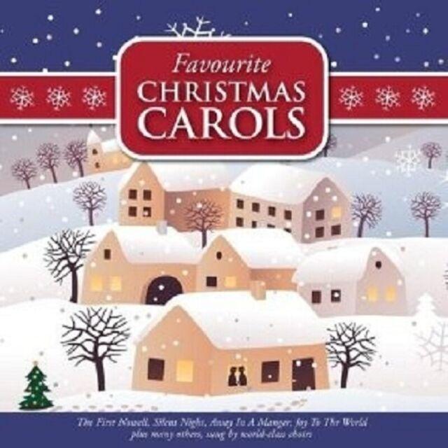 FAVOURITE CHRISTMAS CAROLS 2 CD NEW