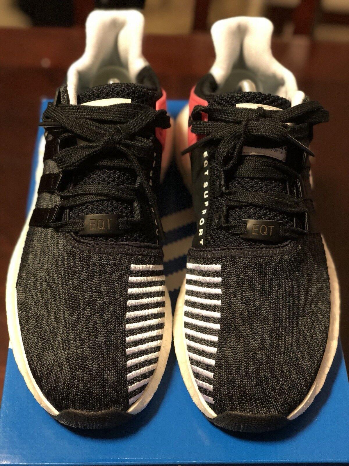 Adidas eqt 93 / 17 il sostegno impulso - turbo rosso - impulso nero taglia 10 uomini ultraboost og 8e72fb