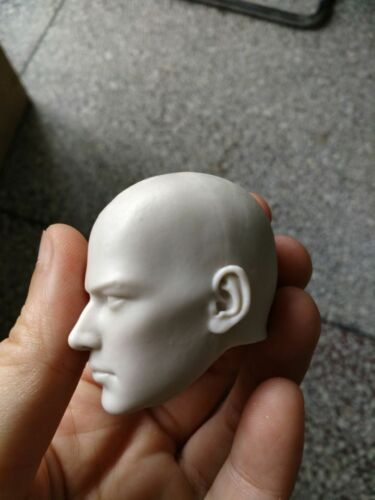 1//6th Sclae Unpainted Head Sculpt Carved Male Bond Holly Monk Action Figure Toys
