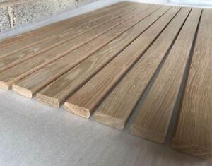 10 Oak Solid Hardwood Bench Slats 1220mm x 56mm x 20mm