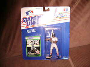 1988 Kenner Starting Lineup Statue, Ellis Burks Red Sox, never opened.