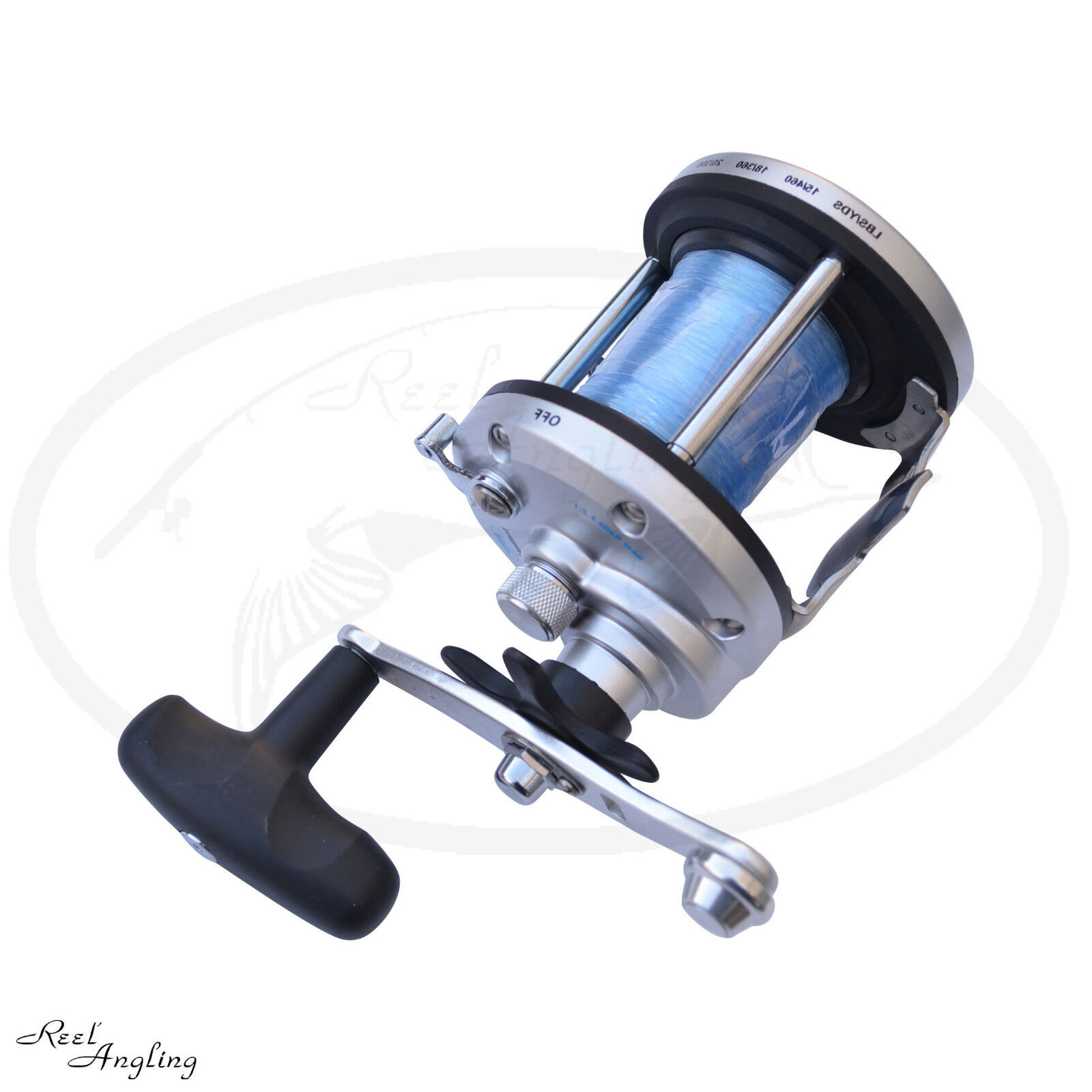 Lineaeffe JD 500 JD 300 Multiplier Sea Boat Fishing Reel Comes With Line Angling