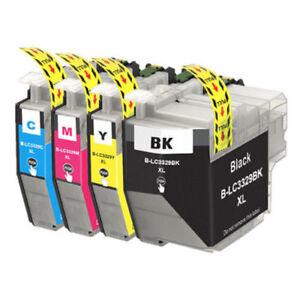 4x-Generic-LC-3329XL-3329XXL-Cartridges-BK-C-M-Y-for-Brother-MFCJ6935DW-J5930DW