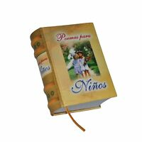 Miniature Hardcover Book Readable 418pg Poemas Para Ninos In Spanish