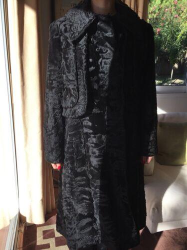 Hartnell designer coat/fur SZ SMALL MEDIUM - image 1
