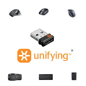 Logitech Unifying Wireless USB Receiver MK330 MK520 MK710 Mouse /& Keyboard Set