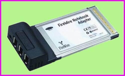 BELKIN 3-PORT High Speed IEEE 1394 FIREWIRE PCMCIA PC MAC Card F5U512-APL NEW