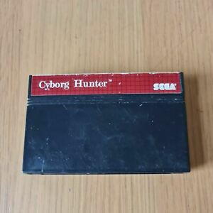 CYBORG HUNTER SEGA MASTER SYSTEM PAL GAME UNBOXED CART ONLY FREE P&P